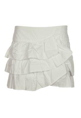 Fusta mini Zara alba