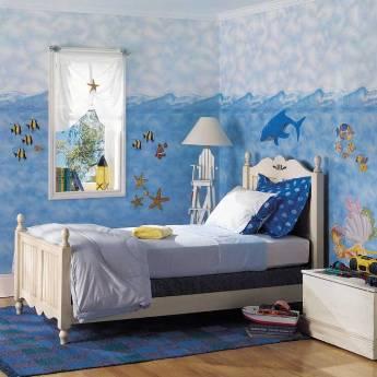 Camera baieti - tema marina