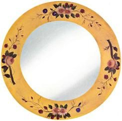 Oglinda rama pictata