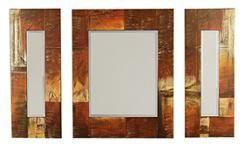 Set 3 oglinzi cu rama pictata