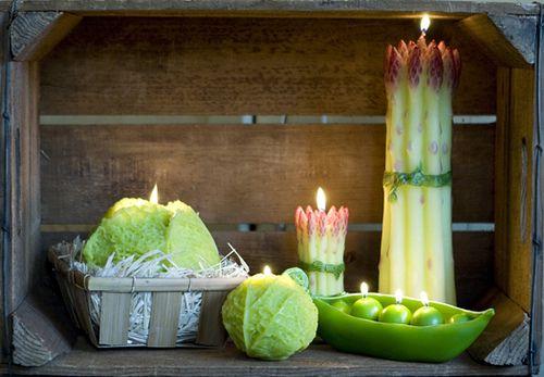 Lumanari legume