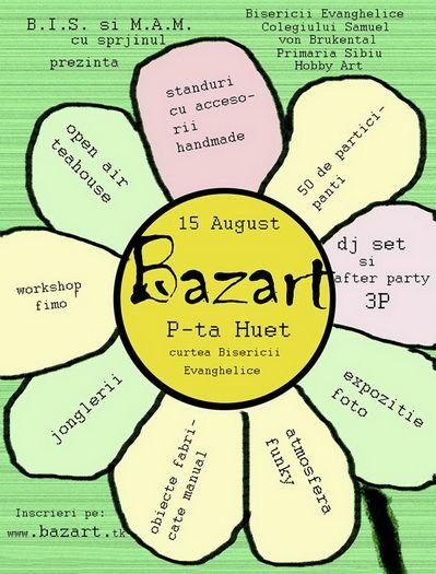 Targ de handmade BAZART