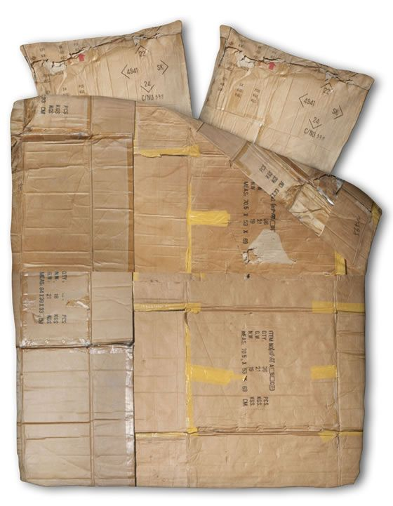 Lenjerie pat - cutie de carton