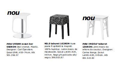URBAN scaun bar + INGOLF taburet