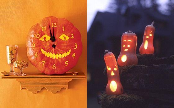 Decorare cu dovleci de Halloween