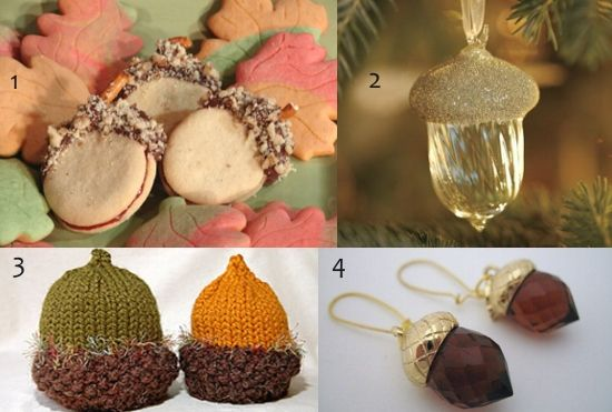 Ghinde: dulciuri, ornamente si accesorii
