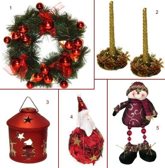 Coronite, candele, lumanari si figurine de Craciun