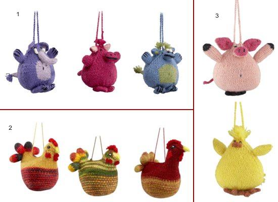 Ornamente tricotate