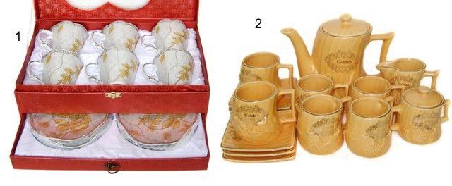 Seturi elegante de cesti pentru cafea