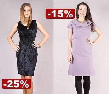reduceri de 15% - 25% la rochii