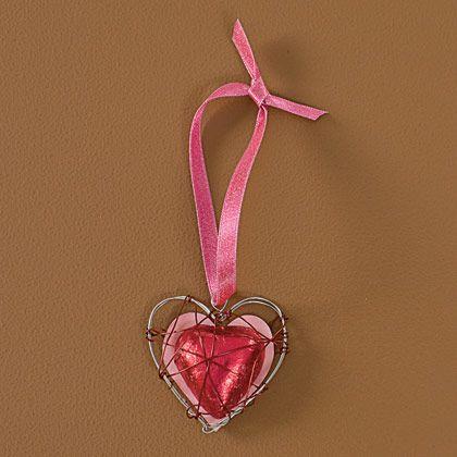 colier inima pentru sf. valentin