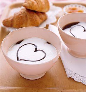 cafea cu inima