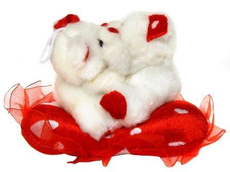 2 ursuleti de plus cu mesaj de dragoste