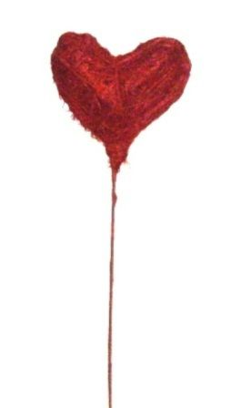 Inima din sisal cu bat