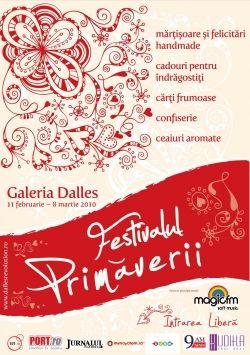 Festivalul Primaverii targ de cadouri, felicitari, martisoare