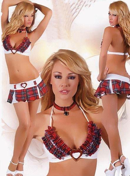Lenjerie Costum sexy scolarita