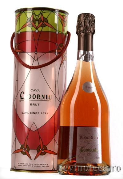 vin spumant cava codorniu reserva pinot noir rose