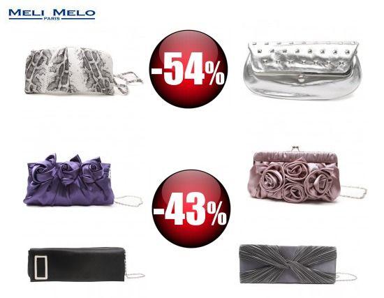 Reduceri la Meli Melo, genti cu 54% mai ieftine