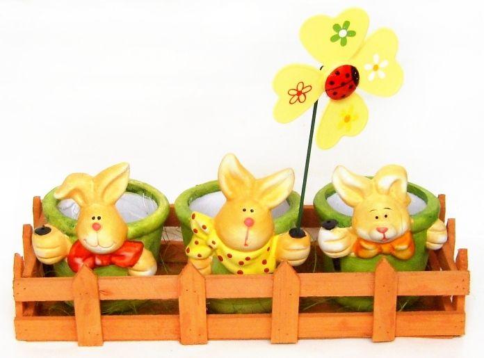 Ghivece decorative pentru Paste