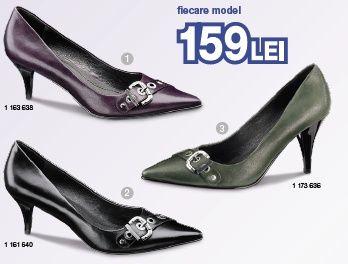 Pantofi Deichmann piele, 159 ron