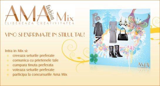 AmaMix - creeaza tinute online