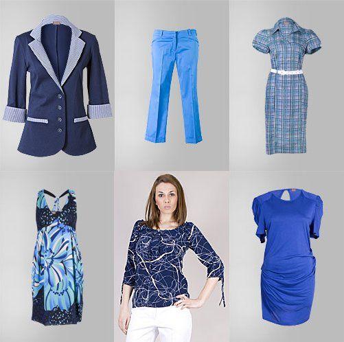 Albastru - trendul verii 2010