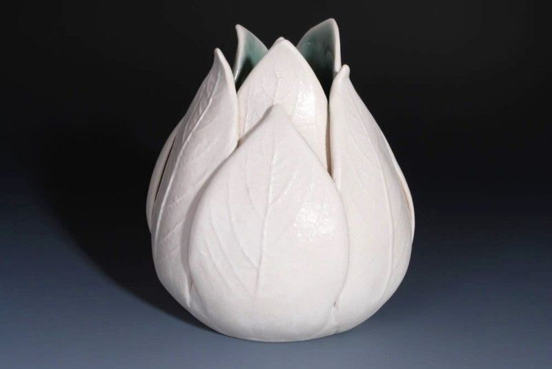 Vaza lalea din ceramica
