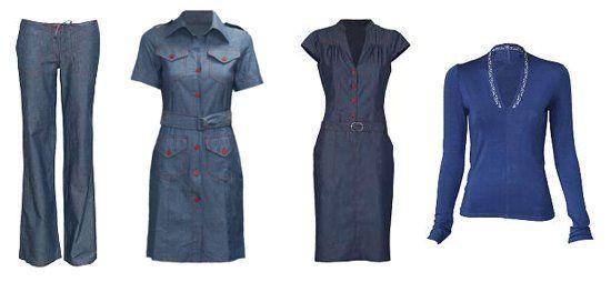 Tendintele verii in culori: albastru pentru haine si incaltaminte