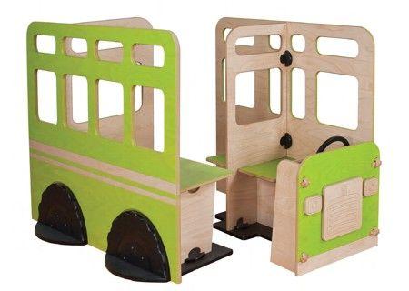 Mobilier copii, forma autobuz