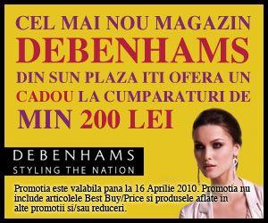 Oferta speciala la Debenhams