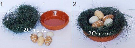 Cuib cu oua