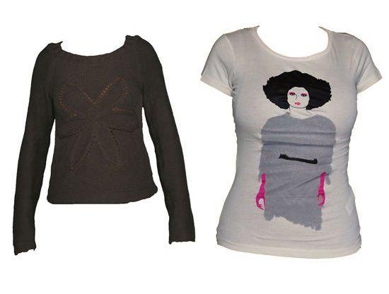Pulover VILA si Tricou Zara