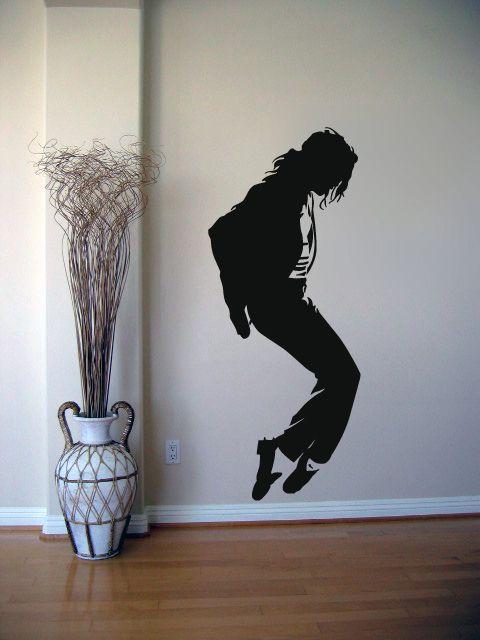 Autocolant perete Michael Jackson