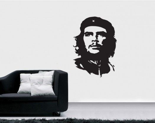 Autocolant perete Che Guevara