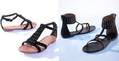 Sandale romane cu talpa joasa