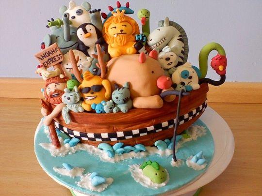 Tort pentru copii - Arca lui Noe