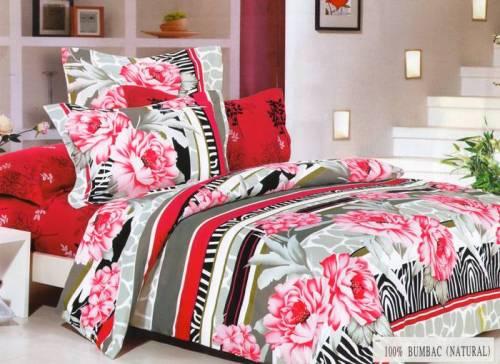 Lenjerie de pat cu flori