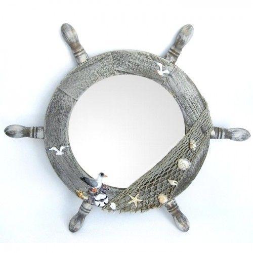 Oglinda in forma de timona pt. un pescar impatimit