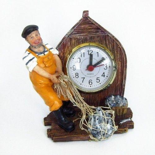 Ceas de masa cu pescar