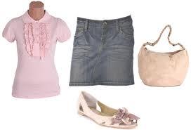 Bluza roz OVIESSE cu volane