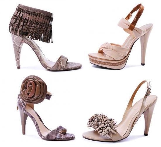 Sandale cu toc inalt de la Il Paso