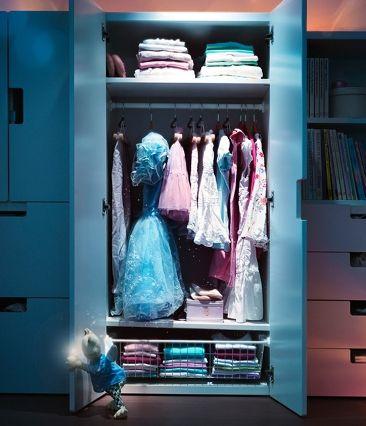 Organizarea camerei copilului in Catalogul IKEA 2011