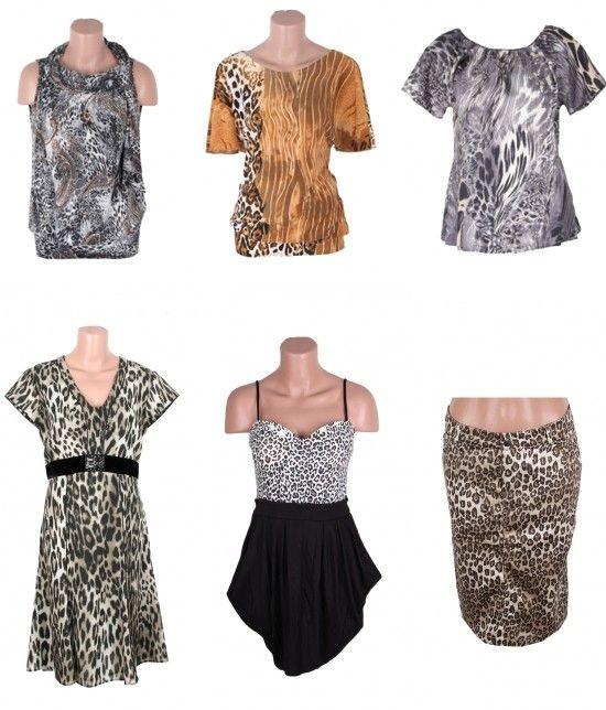 Bluze, fuste, rochii imprimate cu model animal