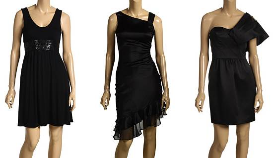 Black dresses for the party