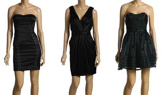 Black dresses for special occasion
