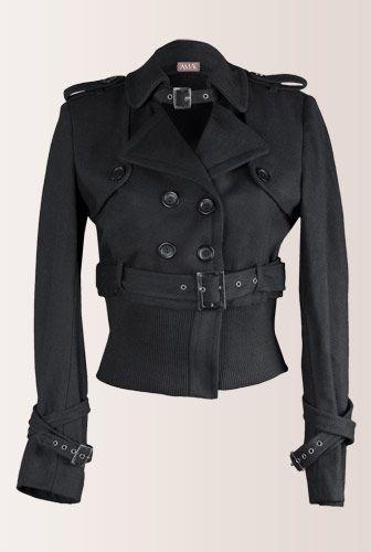Jacheta scurta neagra