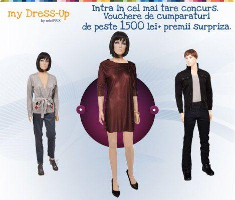 haine gratis de la MiniPrix prin concursul MyDress Up