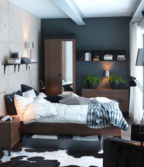 Mobila si decoratiuni pt. dormitor – catalogul IKEA 2011