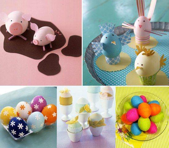 DIY - decoreaza oua de Paste cu copiii