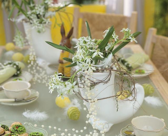 Idei pentru decorarea mesei de Paste